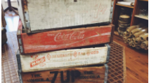 SODA CRATES                   QUANTITY: 4 RENT: $3 EACH
