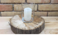 GLASS VOTIVE HOLDERS  QUANTITY: 60                      RENT: $1 EACH
