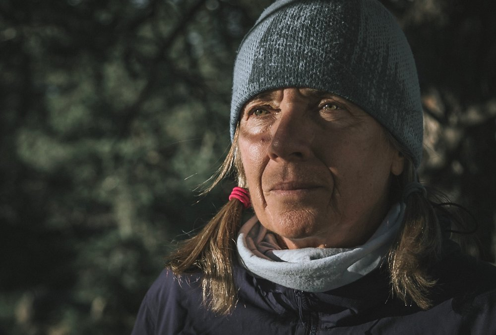 Cindy Gagnon -  guide , avalanche survivor