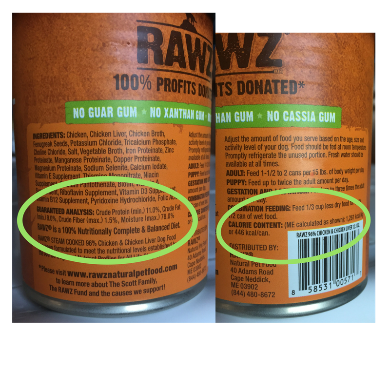 CANNED FOOD - 11% PROTEIN   THIS FOOD PROVIDES A MIN. OF  75 GRAMS  OF PROTEIN PER 1,000 CALORIES