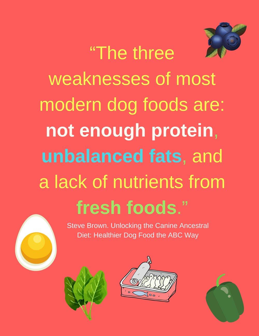 """Dogs, like people, need some fresh whole foods."".jpg"