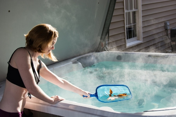 Prepare your hot tub before the party and restore it after the party to keep it pristine.