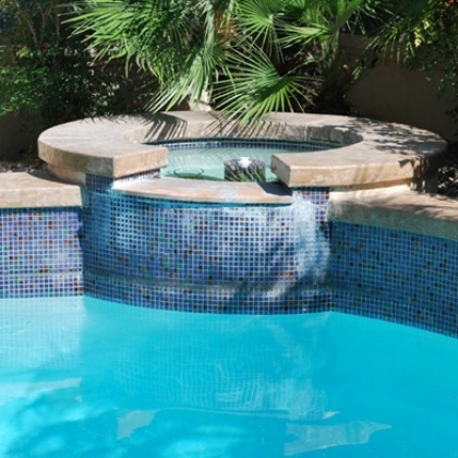 A water line can be unsightly and problematic.