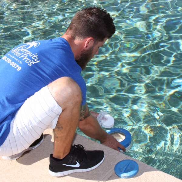 A pool pro can handle a pool leak without delay