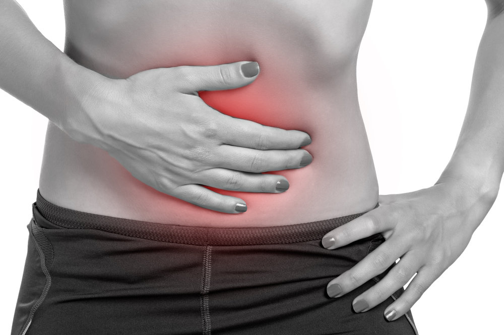 Colon or large intestine pain