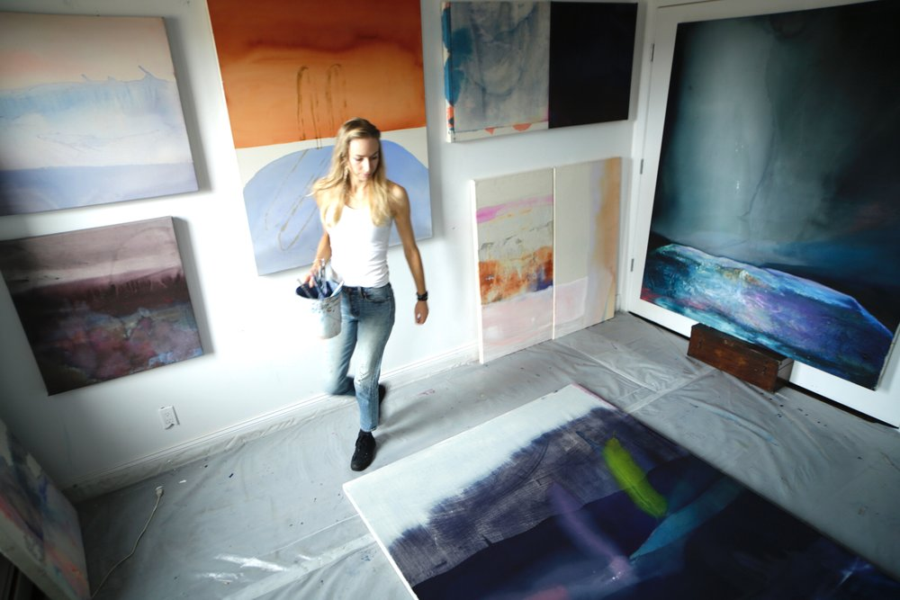 Dana James: From Dreams of Pools, To Caves of Jewels by Danielle Burnham -