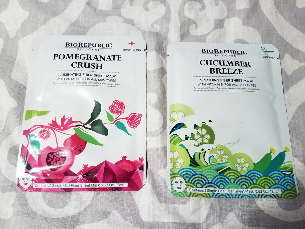 BioRepublic SkinCare Sheet Mask Duo