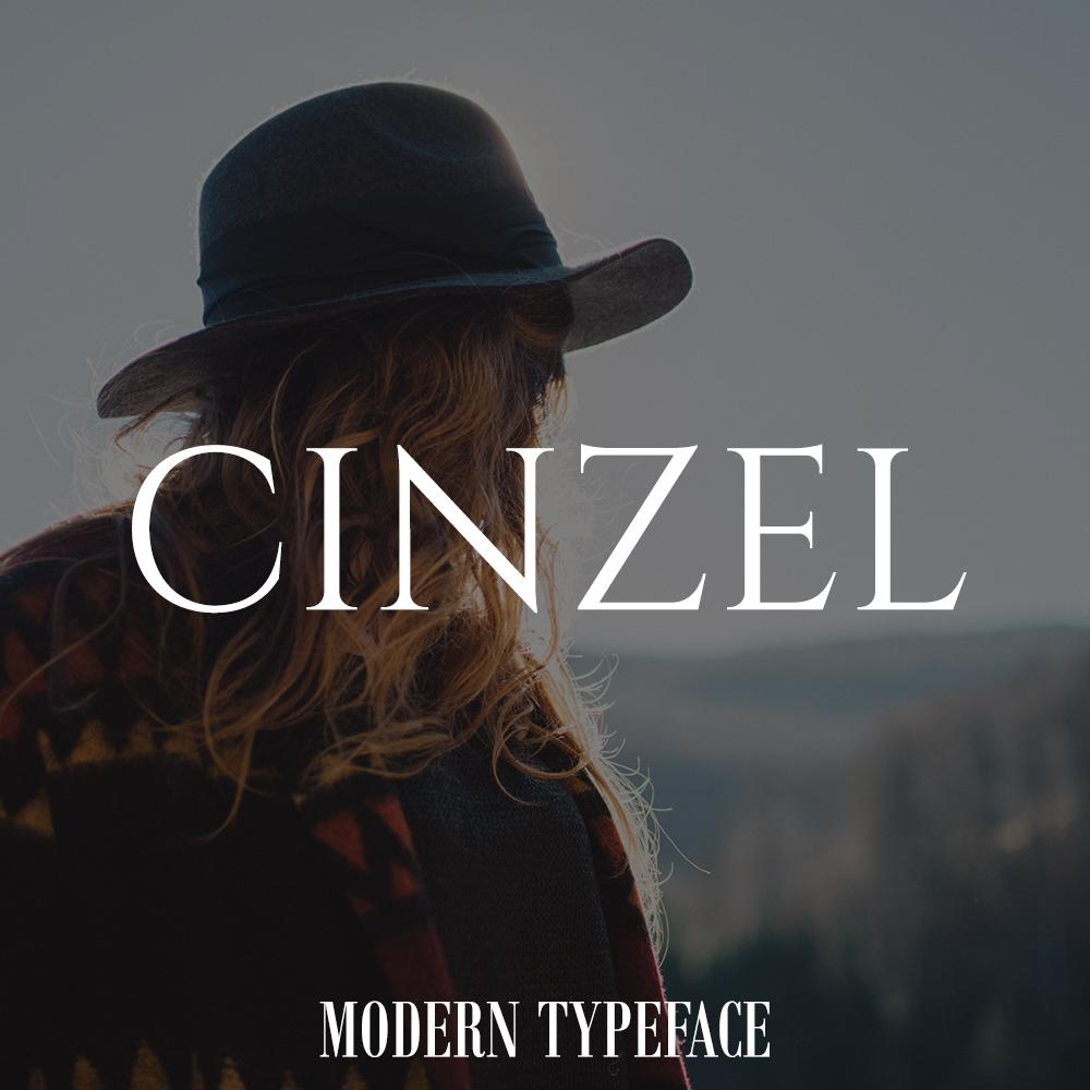 cinzel-font