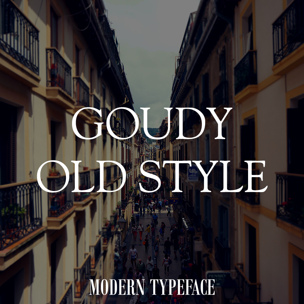 goudy-font