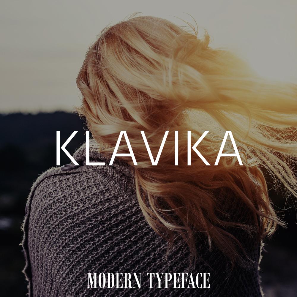klavika-font