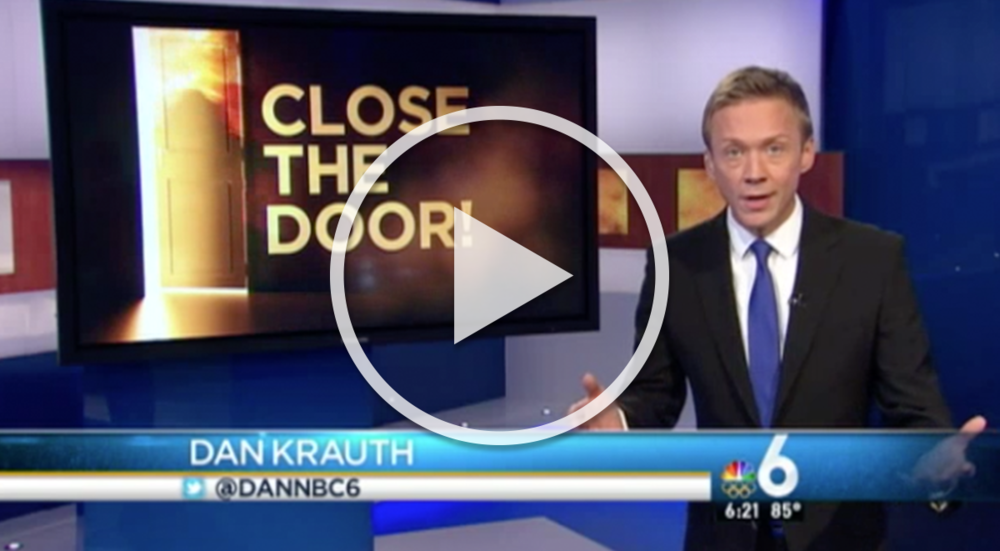 """NBC 6 News South Florida """"Close the Door: It Can Provide Life-Saving Seconds in Fires"""" (5/19/2016)"""