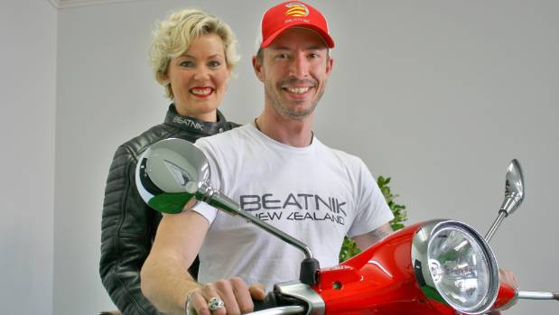 Husband and wife team Mike Gilbert and Samantha Warrender have launched a Ducati and Vespa tour and rental company in Marlborough.
