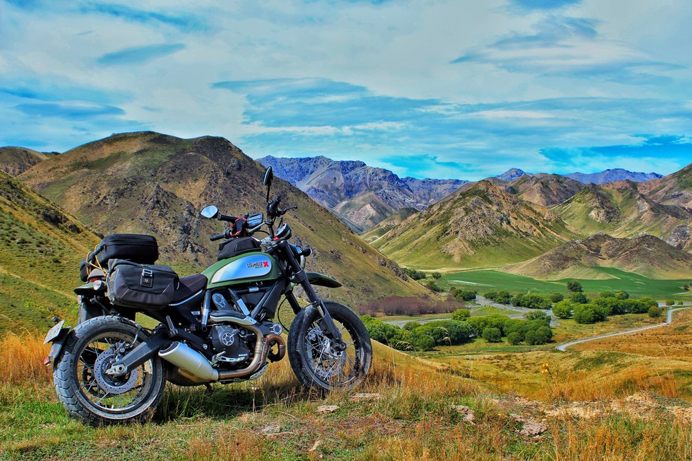 The best scenery in New Zealand is on the back roads.