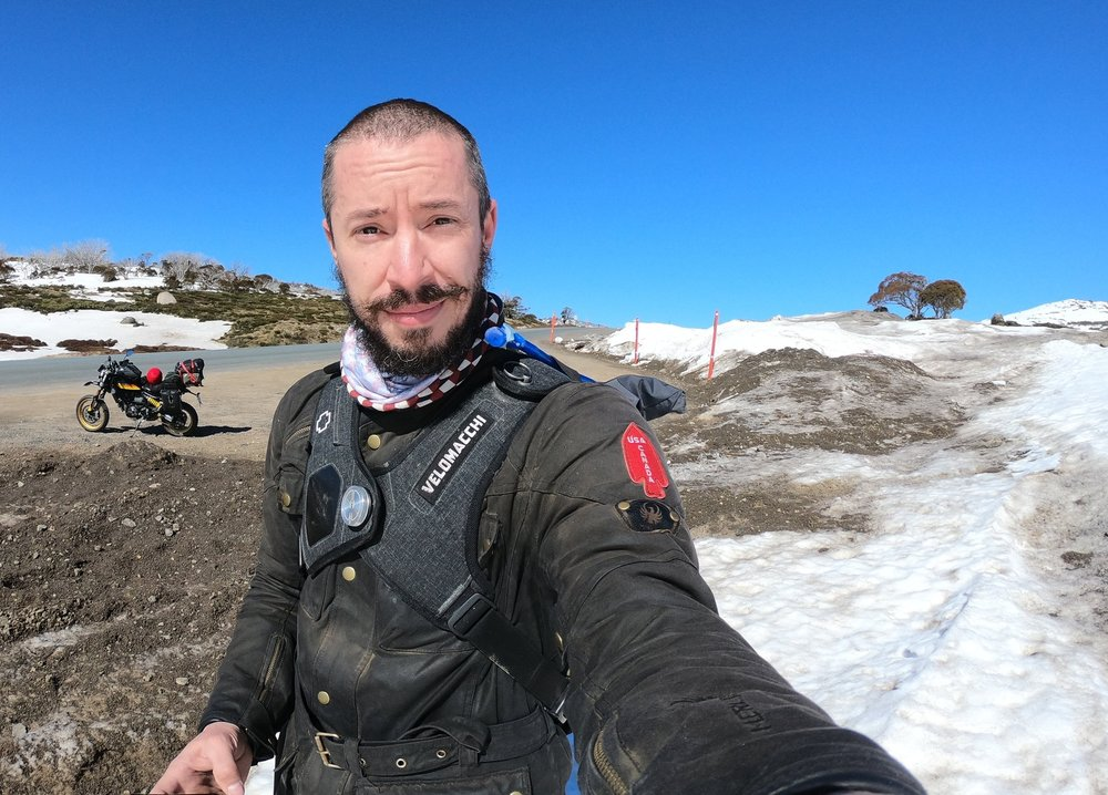 Sea to Snow - The Speedway 28L looked great despite the close proximity to my terrible beard and vacant facial expression.