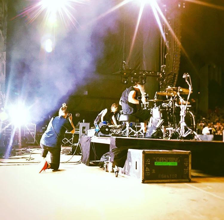Me on Stage With The Offspring