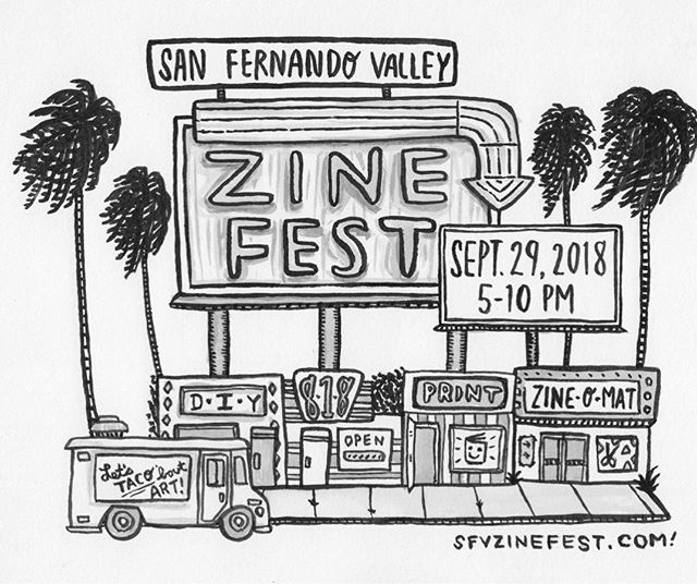 See you all at @sfvzinefest later today!!! #zinefest #zinester #sfvzinefest