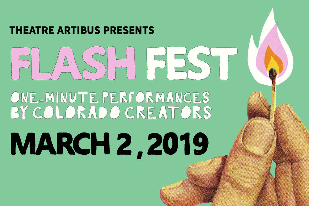 Theatre Artibus presents FLASH FEST: AN EVENING OF ONE-MINUTE PERFORMANCES