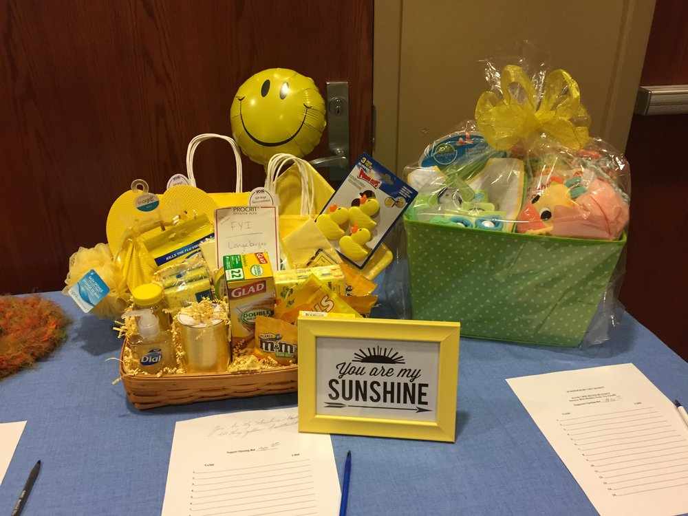 Silent Auction Items at Pipin' Hot