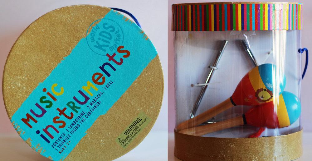 Kids Musical Instrument Set:  World Market