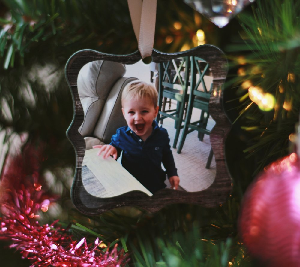 Photo Ornament:   Shutterfly