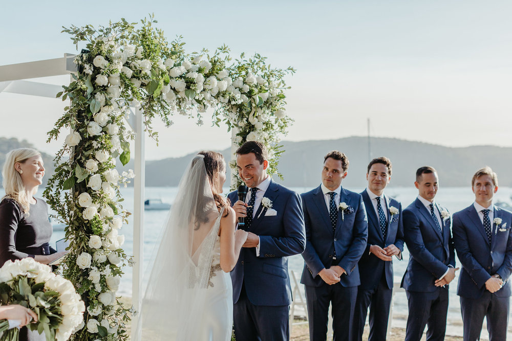 White Elegance Wedding Ceremony Package
