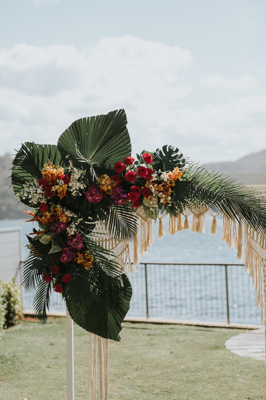 Beach Boho Wedding Ceremony Package