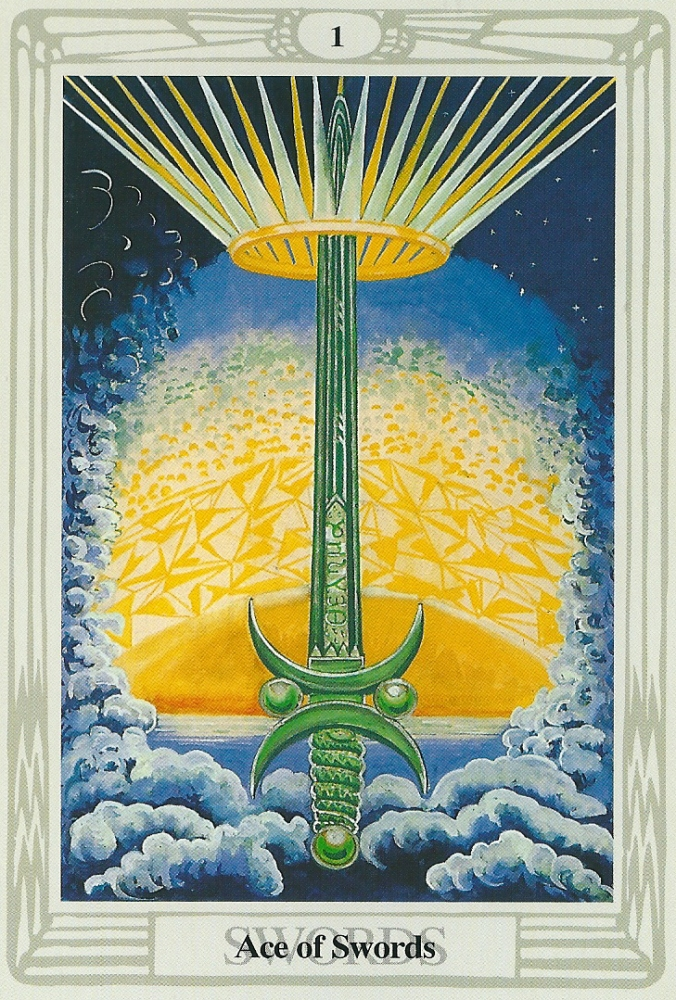 The Ace of Swords - $80 CDN