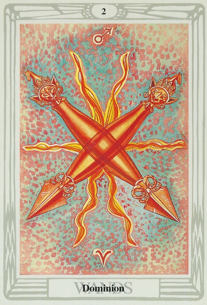 The 2 of Wands -