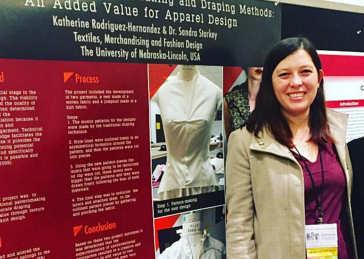 Katherine Rodriguez on Textiles & E-Textile Design Fulbright Scholar Masters in Textiles & Apparel Design E-Textile Enthusiast