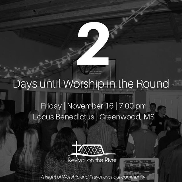 || 2 DAYS AWAY || Worship in the Round is only TWO days away and we couldn't be more excited! Are you joining us? Let us know below!!! Invite some friends!! 🙌🏻 • • • • • • #worshipintheround #rotr2019 #rotr #worship #christianmusic #worshipmusic #liveworship