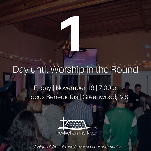 || 1 DAY AWAY || Worship in the Round is TOMORROW and we couldn't be more excited! How are you hoping the Lord speaks to you this Friday?? Invite some friends!! 🙌🏻 • • • • • • #worshipintheround #rotr2019 #rotr #worship #christianmusic #worshipmusic #liveworship