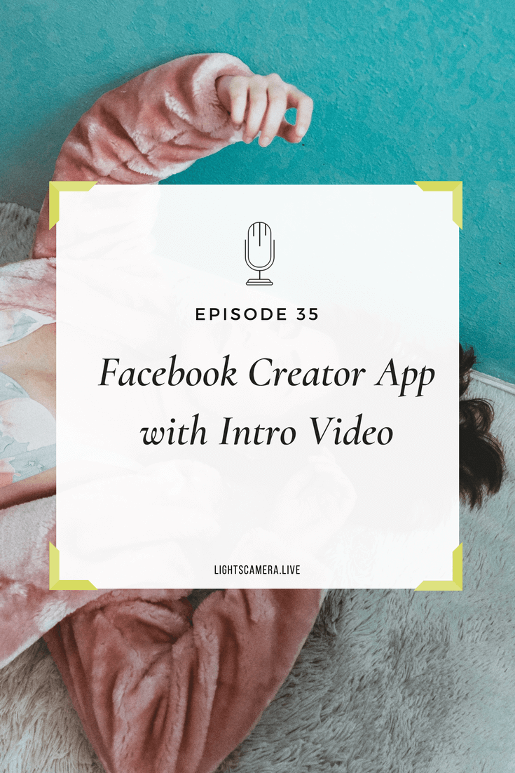 Facebook Live What Entrepreneurs Should Know - Lights, Camera, Live Stephanie Liu