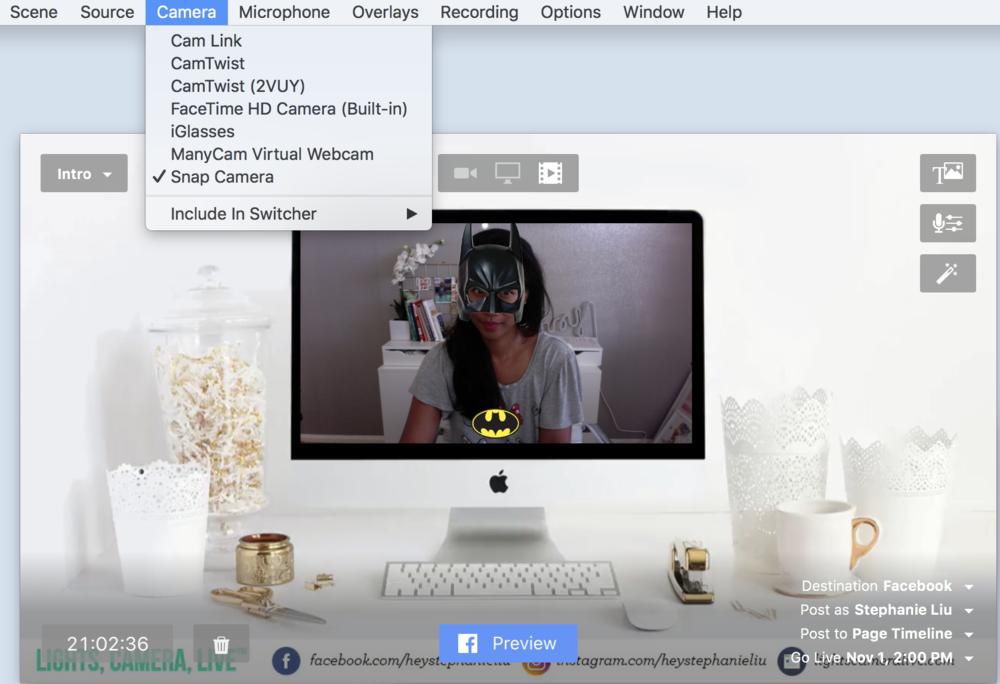 Snap Camera Ecamm Live Beta.png