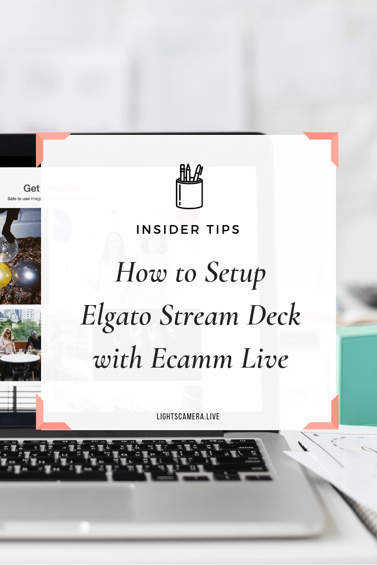 Elgato Stream Deck for Live Streaming Tutorial — Lights