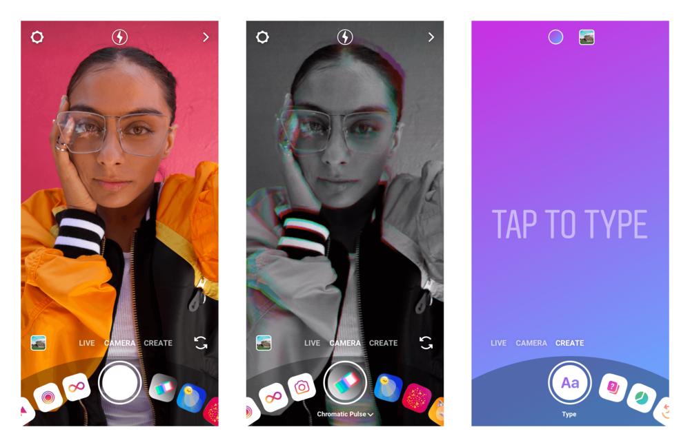 New Instagram Camera Create Mode!