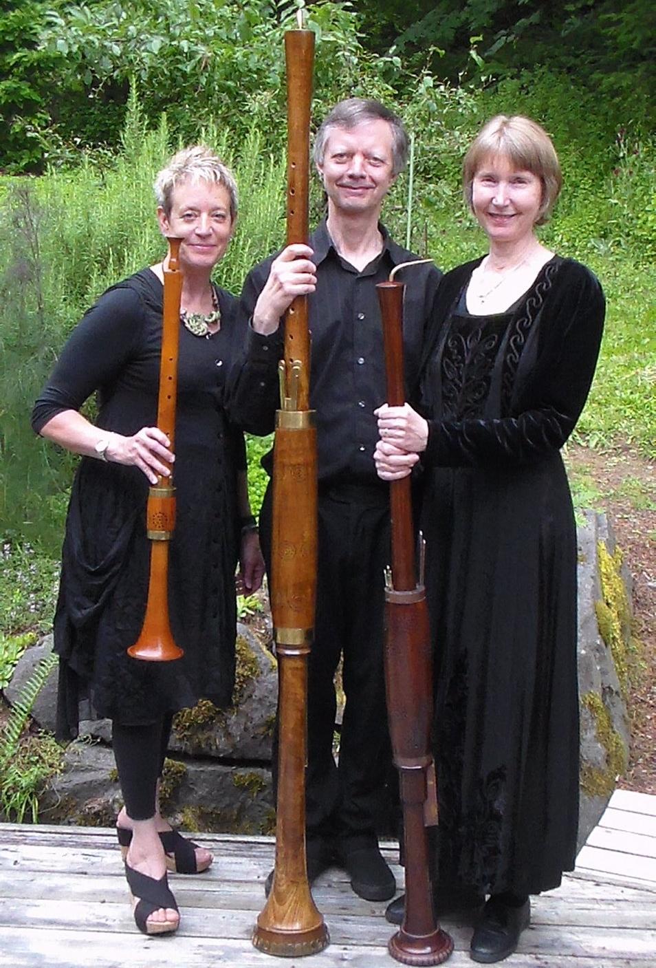 Oregon Renaissance Band's Trio (Click on photo for more info)