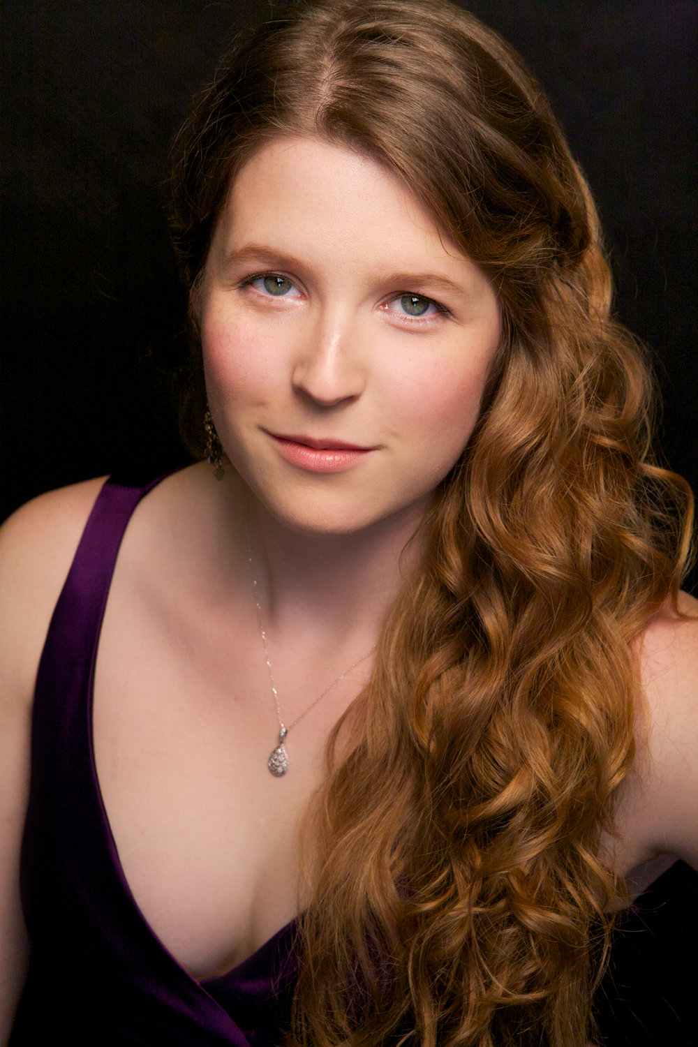 Soprano Siobhan Raupach. CLICK on photo to learn more about her and Kevin