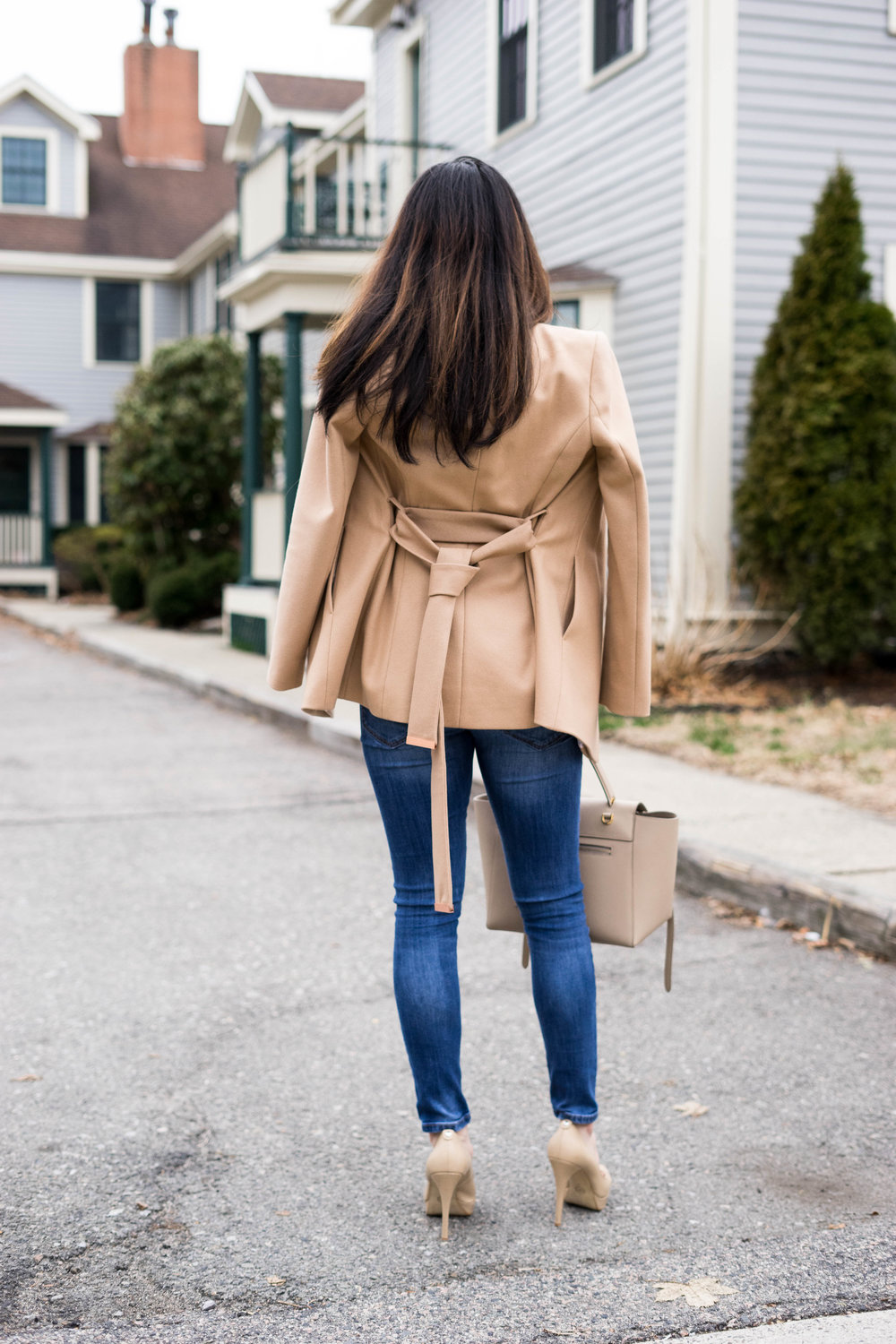 Look More Expensive with A Coat - Ted Baker Coat in Camel - TheNinesBlog.com