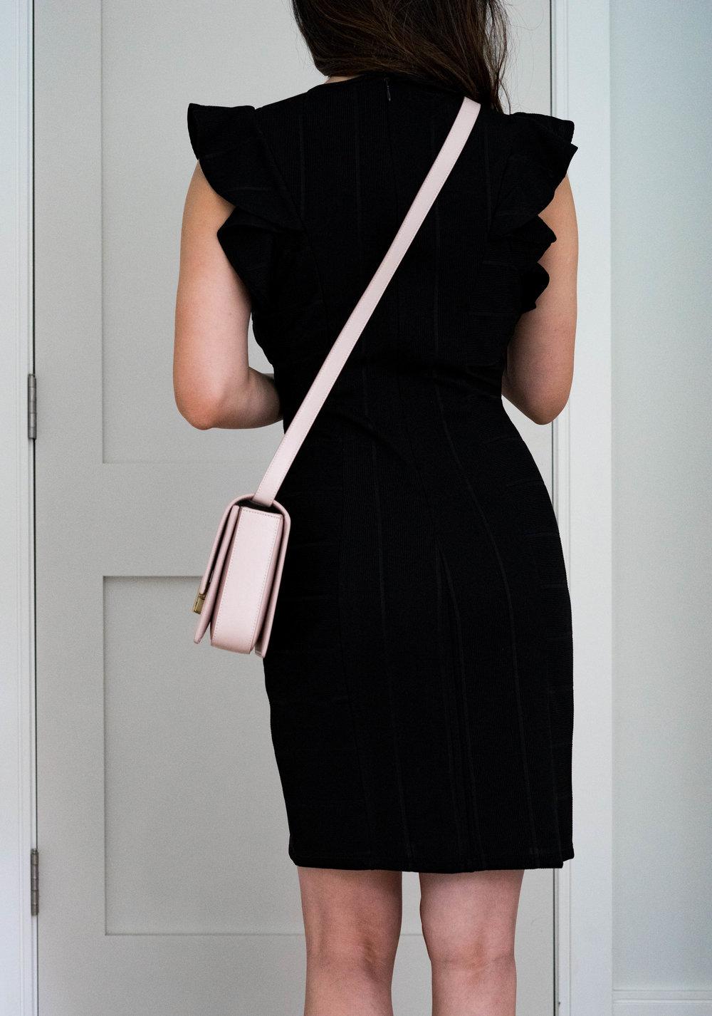 YSL Bellechase Bag Review in Blush: TheNinesBlog.com - A Boston Blog