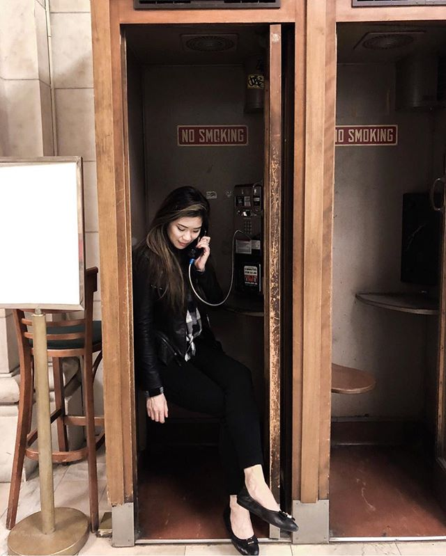 "Found the last telephone booth in New York City. ☎️ So call me maybe? Just kidding, the phone didn't even have a dial tone. - ""Your call cannot be completed as dialed"" at all. 😂 . . . #nyclibrary #phonebooths #callmemaybe #oldschool #oldtech #gettingcultured #empirestate #bostonblogger #igersnyc #thenines"