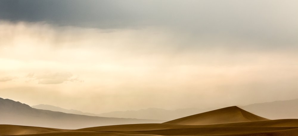 Death Valley Dune. Canon 70D.