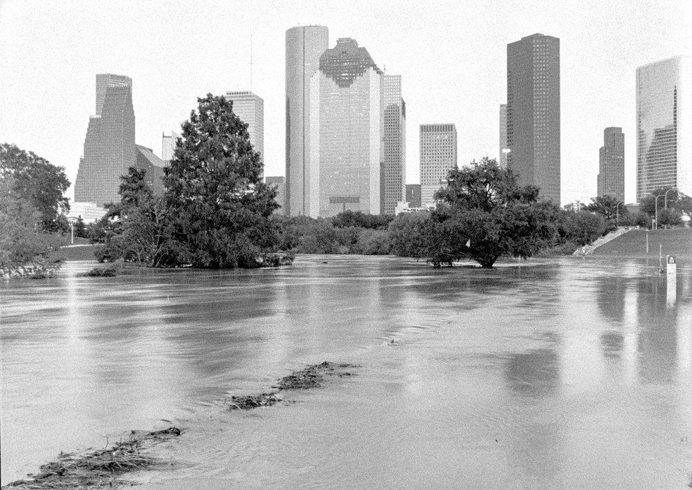 Buffalo Bayou Harvey Houston