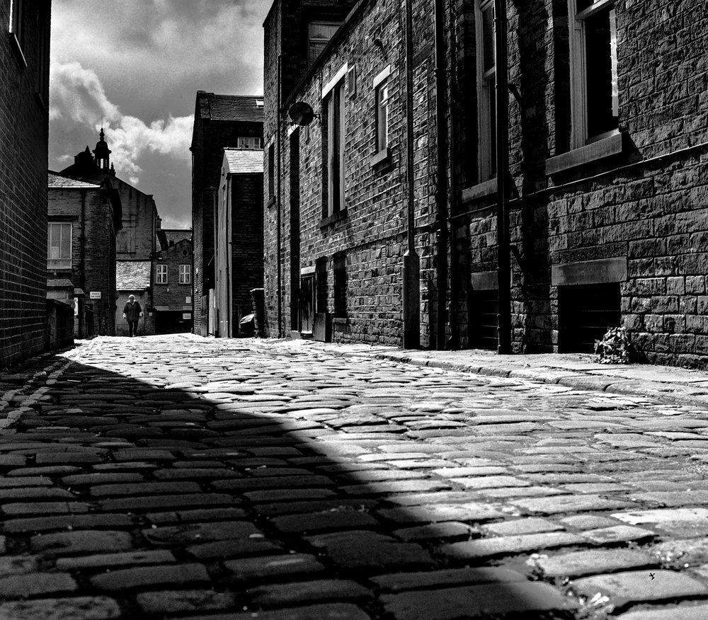 Cobbled Street Halifax