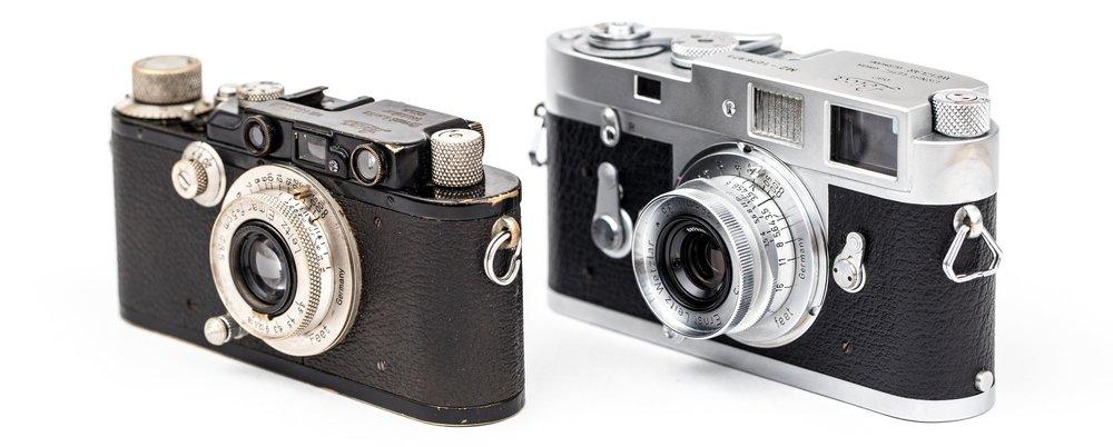 Leica M2 iii summaron 35 elmar 50