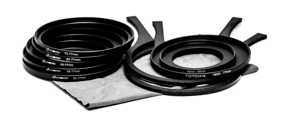 filter adapter rings