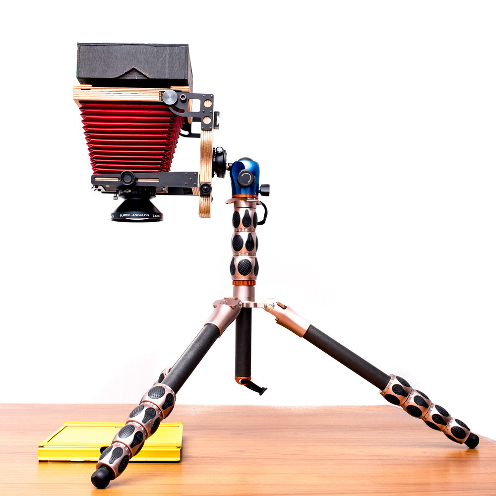 DIY enlarger using an Intrepid 4x5