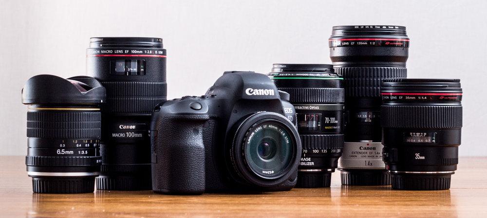 Canon 6Dii kit