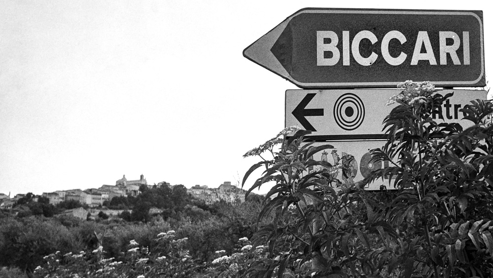 The Road to Biccari