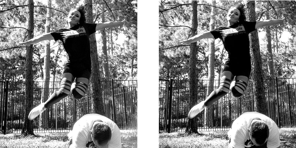 Stereo realist jumping portrait houston 1
