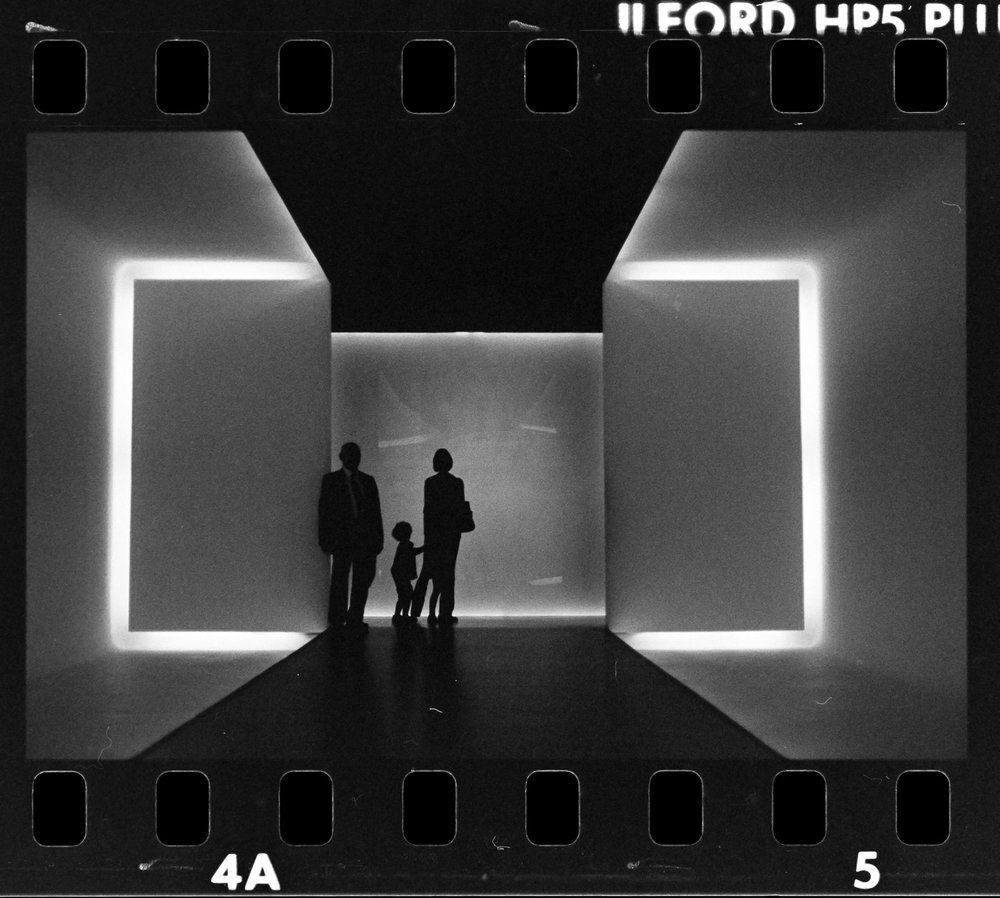 Houston museum of fine arts film negative ilford hp5